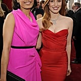 Jessica Chastain Picks Red McQueen For the SAG Carpet