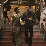 T'Challa and Nakia From Black Panther