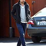 Ryan Gosling Lunches in LA While Eva Launches a Fashion Line
