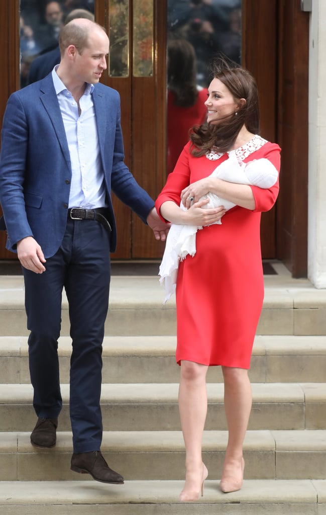 Prince William and Kate Middleton Holding Hands April 2018 ...