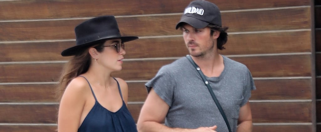 Dad-to-Be Ian Somerhalder Is Adorably Attentive to Pregnant Wife Nikki Reed