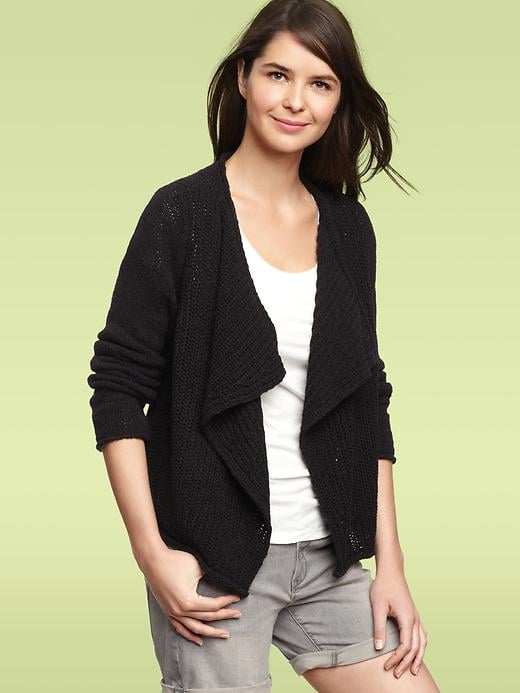 Top your daytime look off with a slouchy knitted cardigan. Gap Stitch Cardigan ($30-35, originally $65)