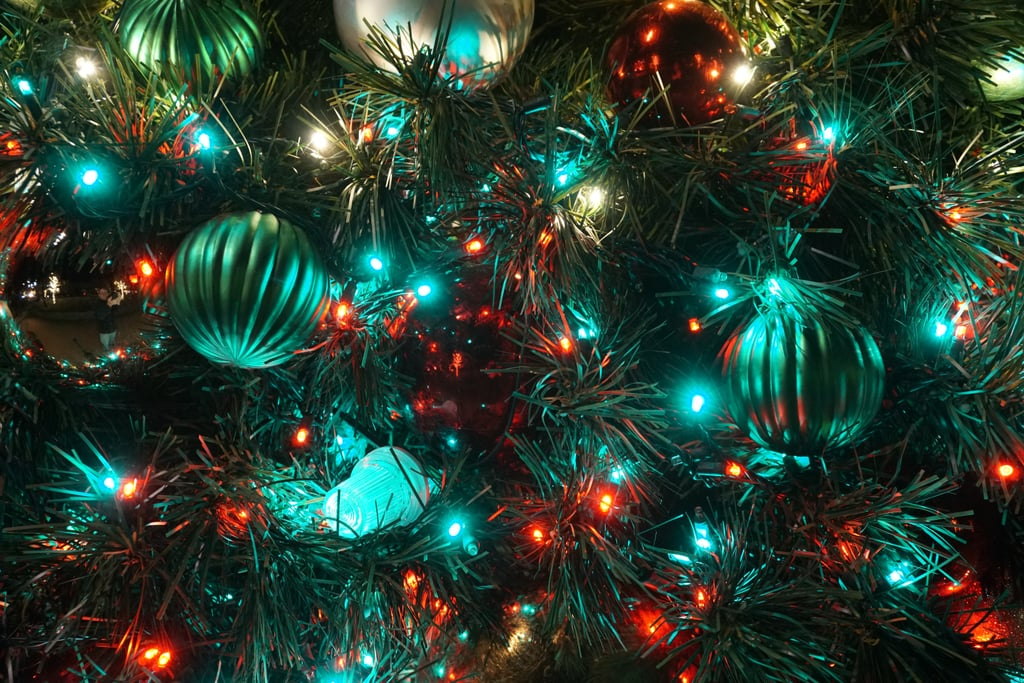 Use Green Tinsel to Make the Tree Look Fuller