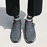 Loeffler Randall Scout Knit Sneaker Bootie