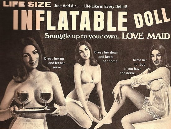 Flashback: Judy the Inflatable Love Maid