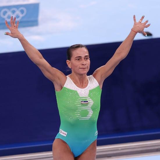 Oksana Chusovitina Gymnastics Pull-Up Challenge