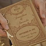 Vintage Ceremony Programs