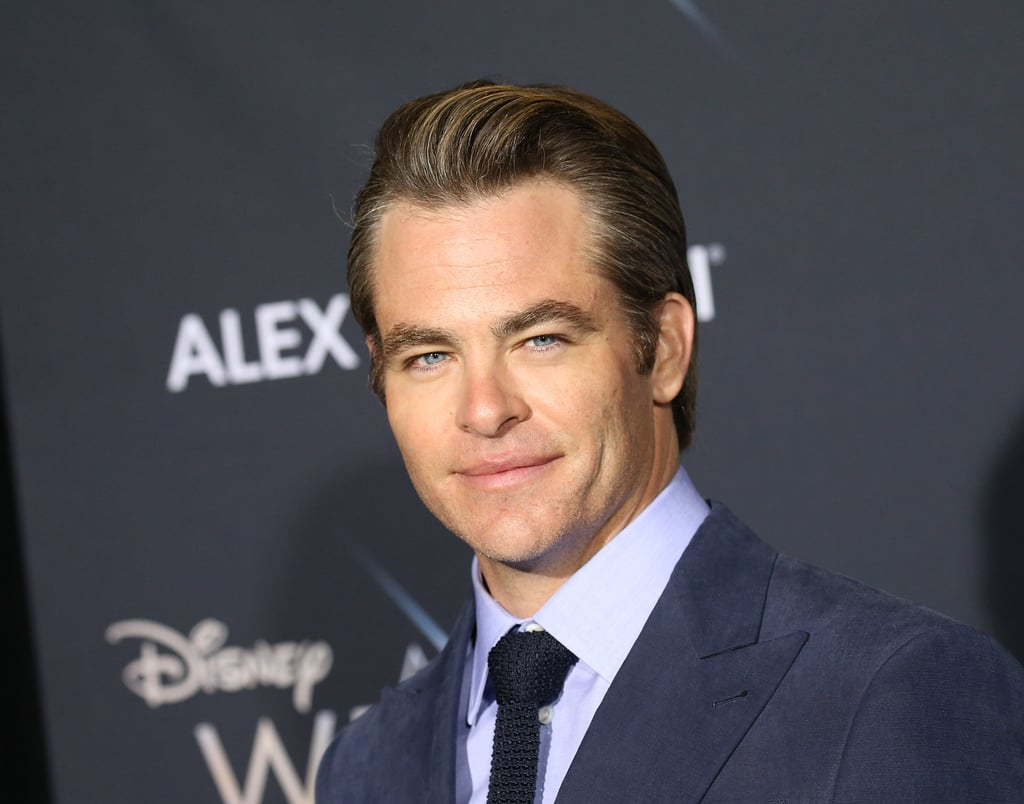 Pictured: Chris Pine