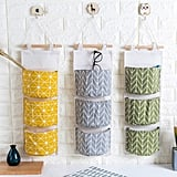 Meigar 3 Grids Wall Mounted Storage Bags