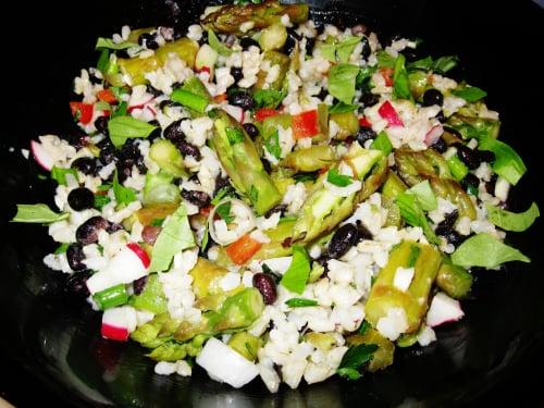 Asparagus and Black Bean Salad