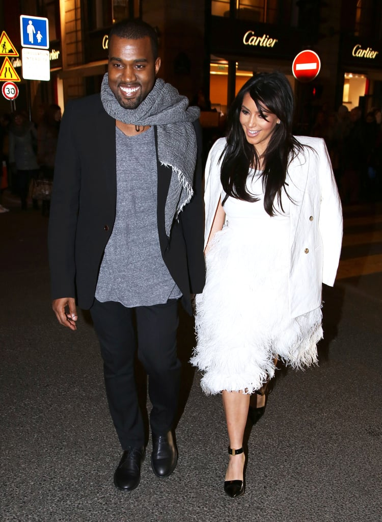 The two were all smiles when they attended Paris Fashion Week in January 2013.