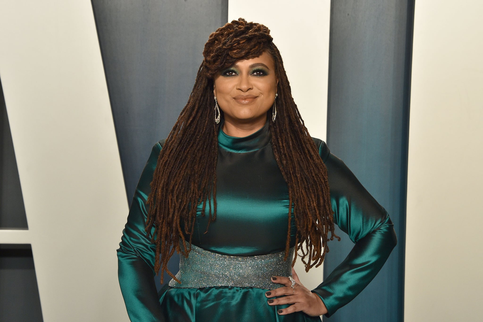 BEVERLY HILLS, CALIFORNIA - FEBRUARY 09: Ava DuVernay attends the 2020 Vanity Fair Oscar Party at Wallis Annenberg Center for the Performing Arts on February 09, 2020 in Beverly Hills, California. (Photo by David Crotty/Patrick McMullan via Getty Images)