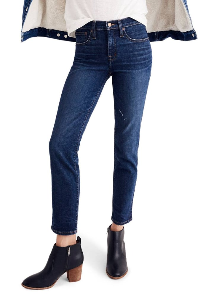 Best high waist straight leg jeans