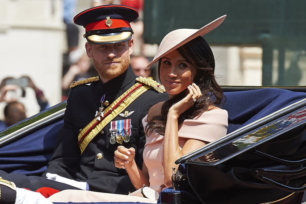 Meghan Markle Hair and Makeup Trooping the Colour 2018