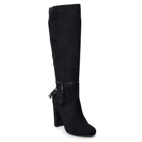LC Lauren Conrad Rootbeer Knee-High Boots