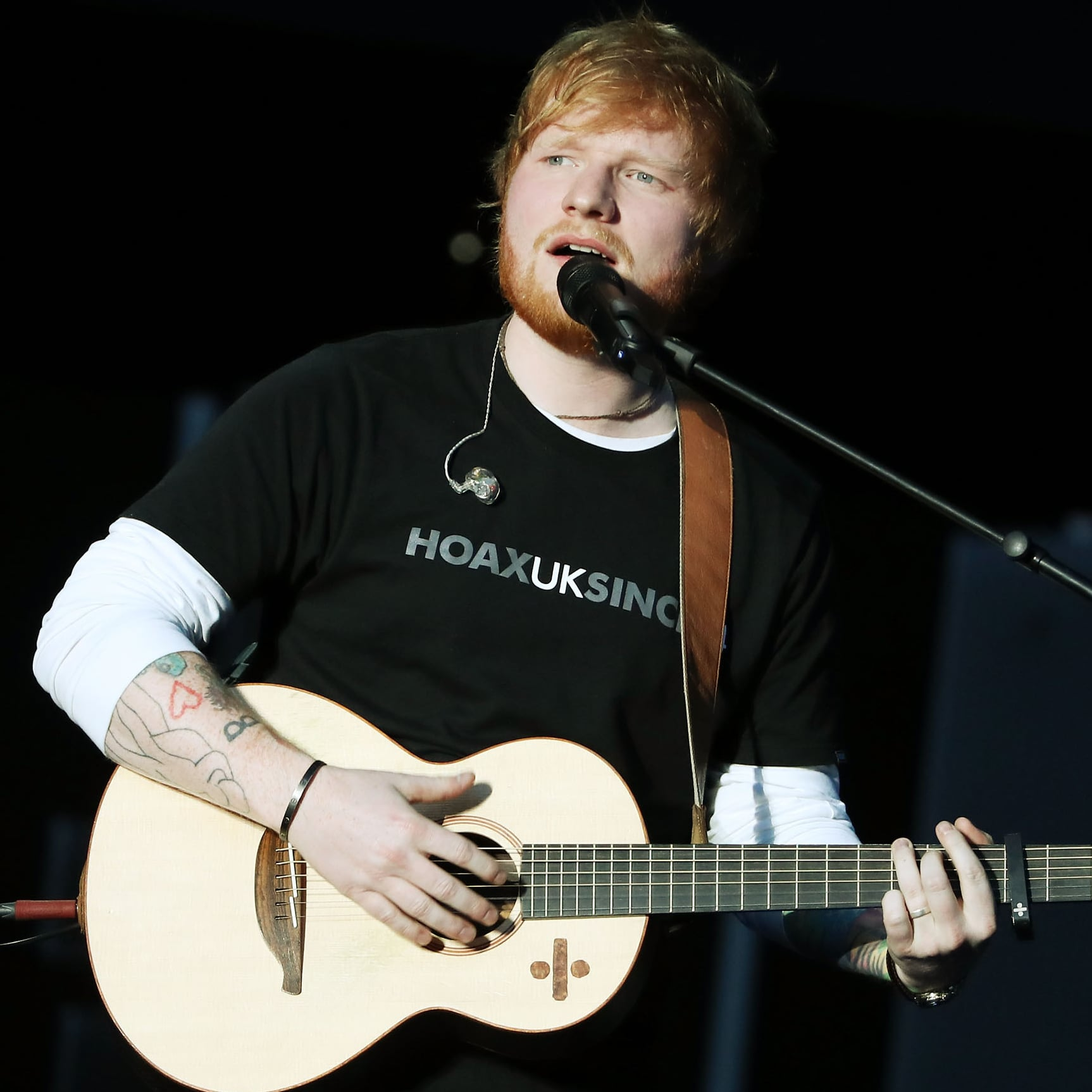 Celebrities on Ed Sheeran No  6 Collaboration Project Album