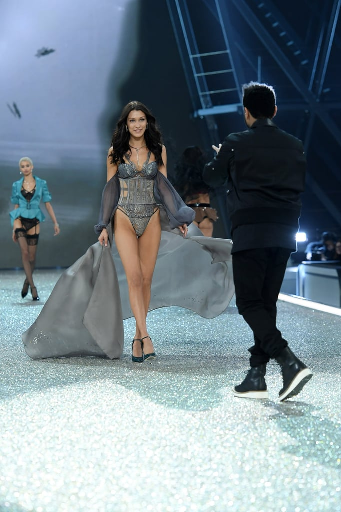 "Running into your ex after a breakup can be super awkward, but Bella Hadid and The Weeknd played it cool at the Victoria's Secret Fashion Show on Thursday. The former couple, who are currently in Paris taping the show, acted like total pros as they passed each other on the runway during the singer's performance. Even though they are no longer dating, Bella told E! News that there are no hard feelings between them. ""There is no awkwardness,"" she said. ""He is my best friend.""      Related:                                                                                                           22 Times You Totally Related to Gigi and Bella Hadid's Sweet Sisterhood"