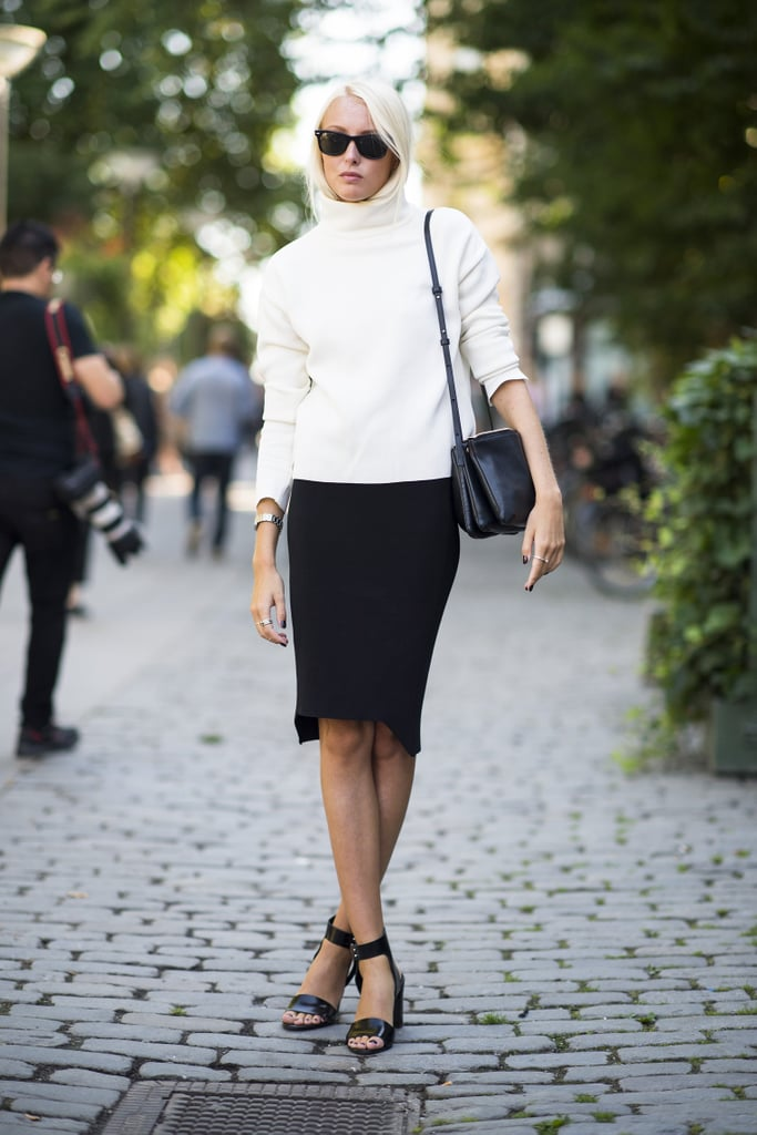 This season, get ready for the return of minimalism — crisp black-and-white palettes and easy pieces.  Source: Le 21ème | Adam Katz Sinding