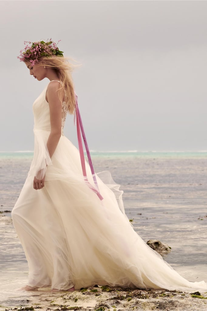BHLDN Majestic Ballgown | Best Beach Wedding Dresses | POPSUGAR ...