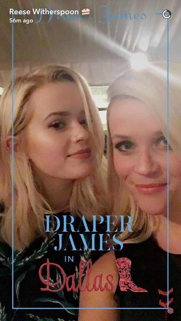 reese witherspoons family pictures on instagram