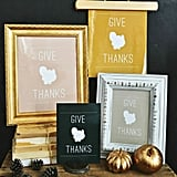 Give Thanks Posters