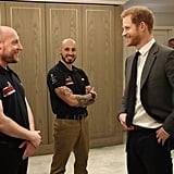 Prince Harry at Walk of America Event in London April 2018