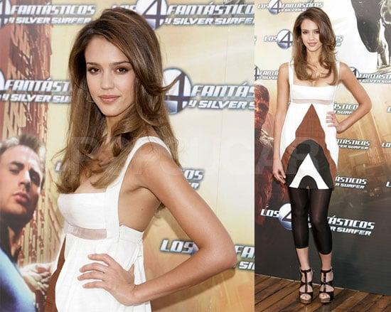 Jessica Alba Is Still Silver Surfing
