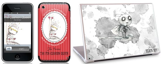 Get Tim Burton Inspired Skins for Your Laptop or iPod from Gelaskins