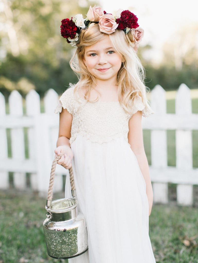 Alternative Ideas For Flower Girl Petal Toss Popsugar Family