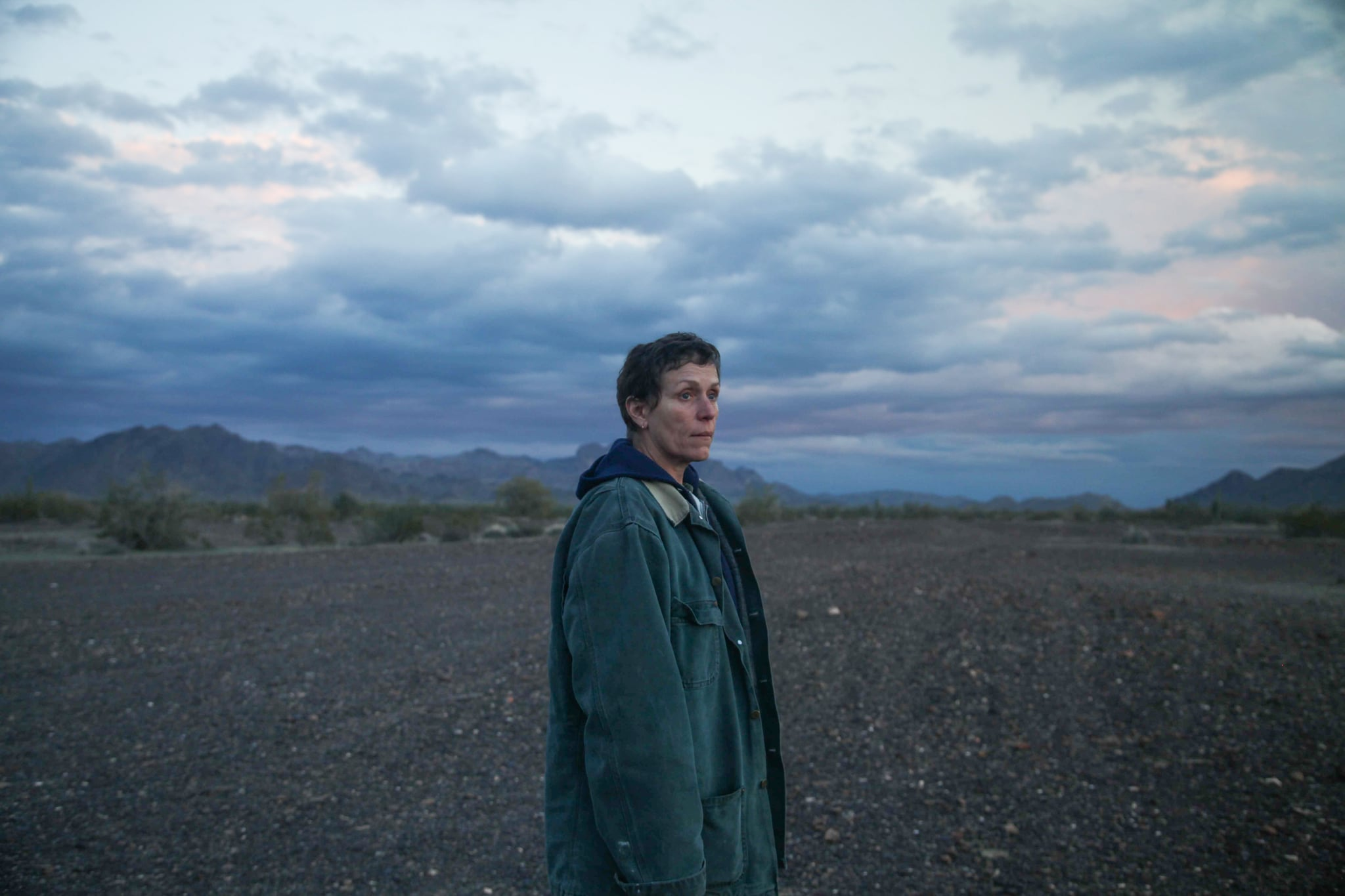 NOMADLAND, Frances McDormand. ph: Joshua Richardson / TM & copyright Fox Searchlight Pictures. All rights reserved. / Courtesy Everett Collection