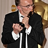 Danny Boyle showed the love for his best director trophy for Slumdog Millionaire in 2008.