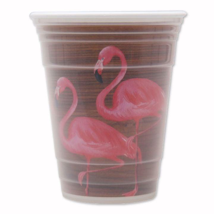 Flamingo Double-Wall Highball Glass ($2)