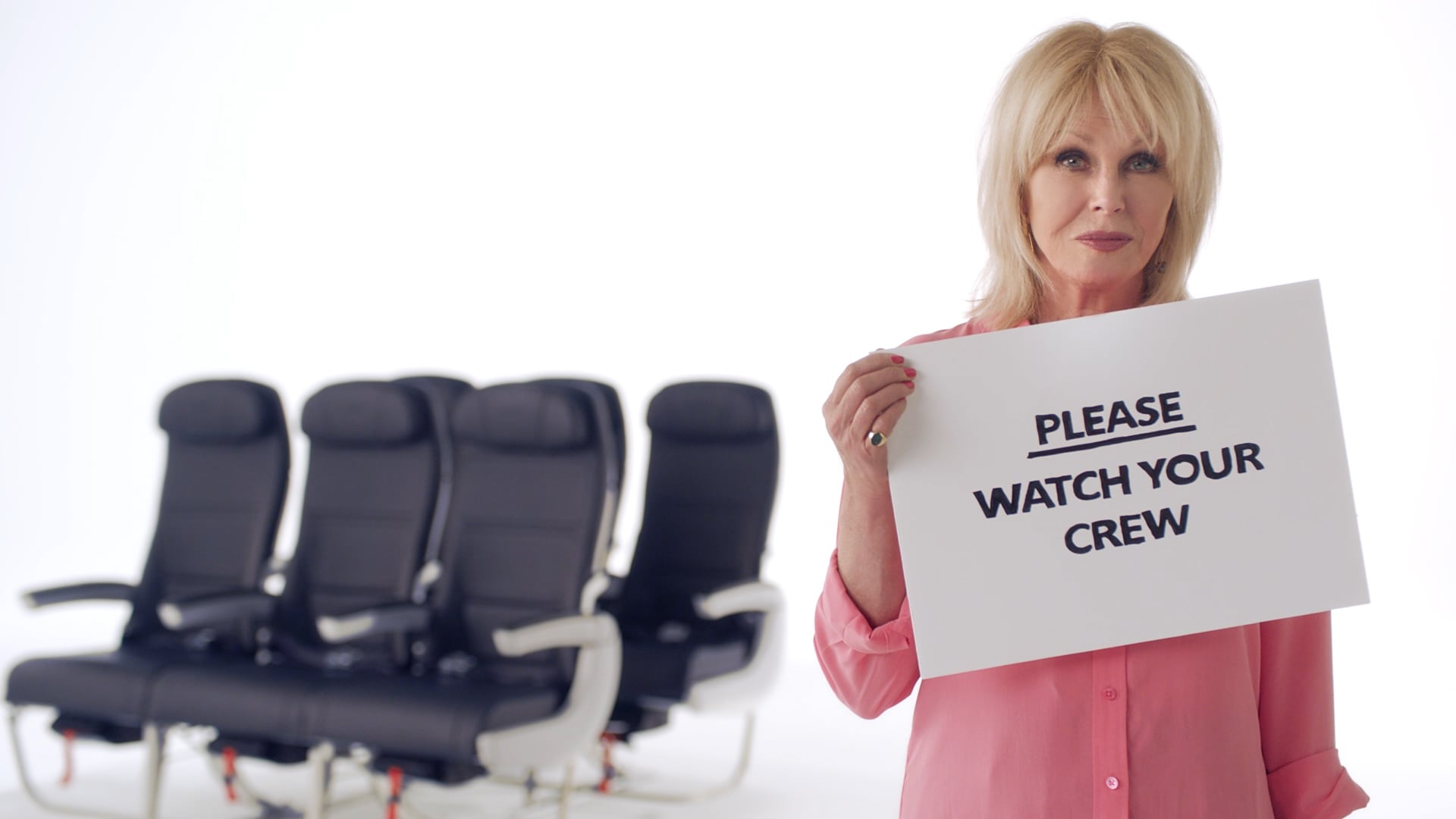 British Airways Comic Relief In-Flight Safety Video