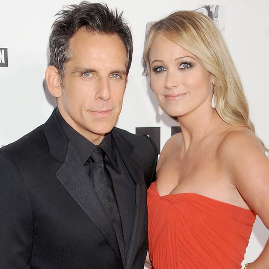 Ben Stiller And Wife Christine Taylor At Cinematheque Awards