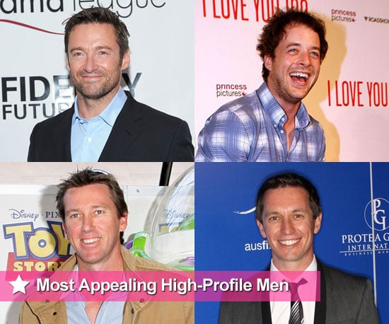 Australian Women Choose The Most Appealing High-Profile Men including Hamish Blake, Hugh Jackman, George Clooney, Brad Pitt etc