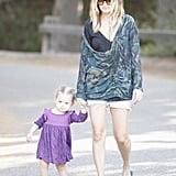 Photos of Nicole Richie and Harlow Madden