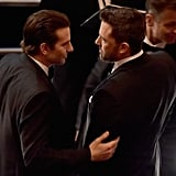 Bradley Cooper Got a Word With Ben Affleck