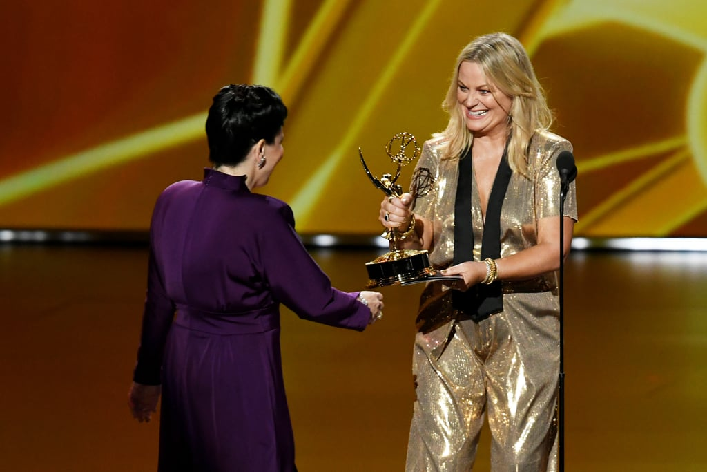 Amy Poehler at the 2019 Emmys