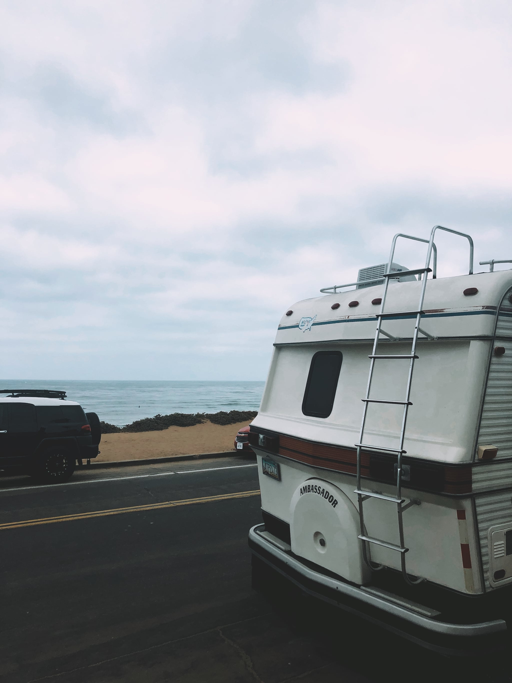 One day we parked it at Sunset Cliffs for the Fourth of July!