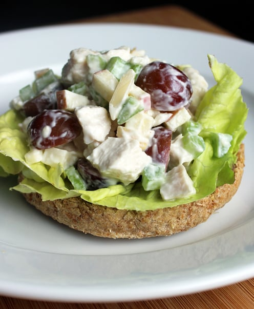 Healthy Chicken Salad Recipe Popsugar Fitness