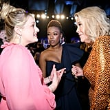 Elisabeth Moss, Samira Wiley, and Catherine O'Hara at the 2020 SAG Awards