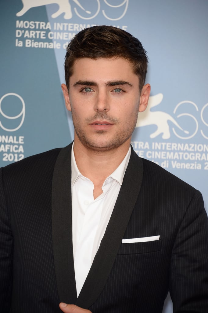 Zac Efron attended the At Any Price photocall at the Venice Film Festival.