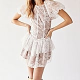 For Love and Lemons Verbena Lace Tiered Mini