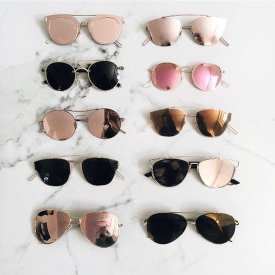 Best Chic Metal-Rim Sunglasses