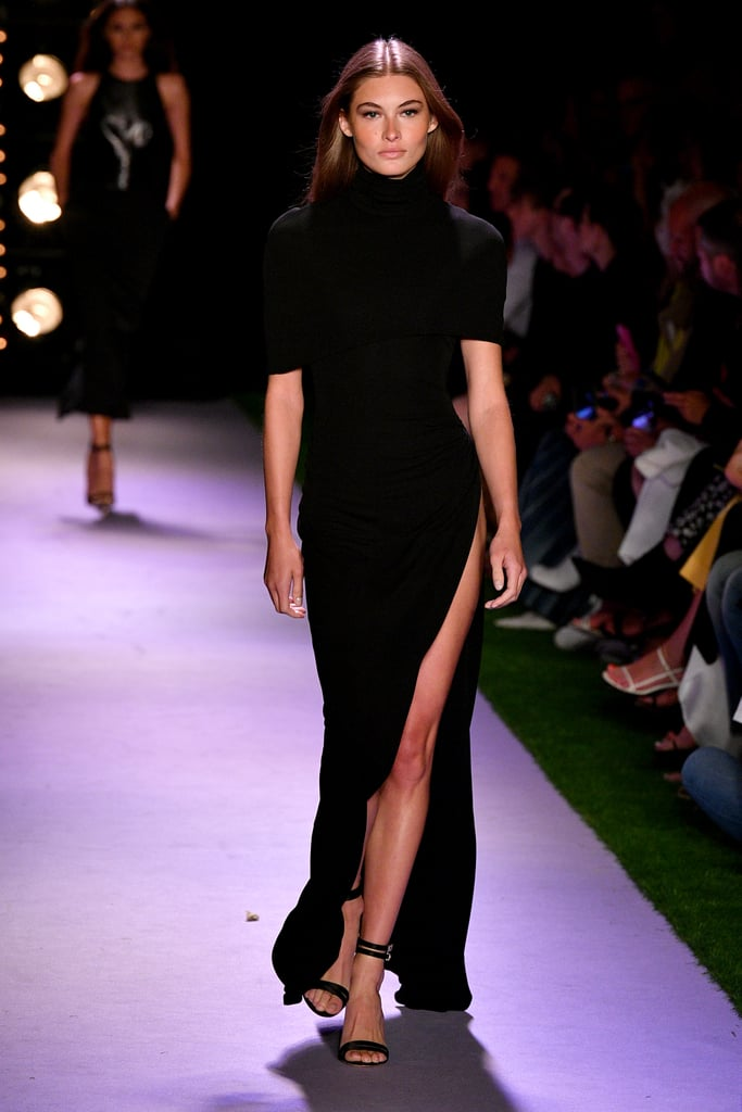 Grace Elizabeth on the Brandon Maxwell Runway at New York Fashion Week