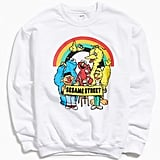 Urban Outfitters Sesame Street Crew-Neck Sweatshirt