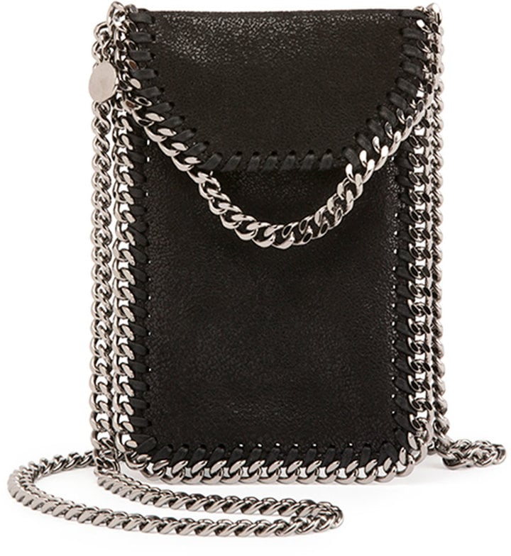 Stella McCartney Crossbody Bag Phone Holder w/ Chain Trim ($560)
