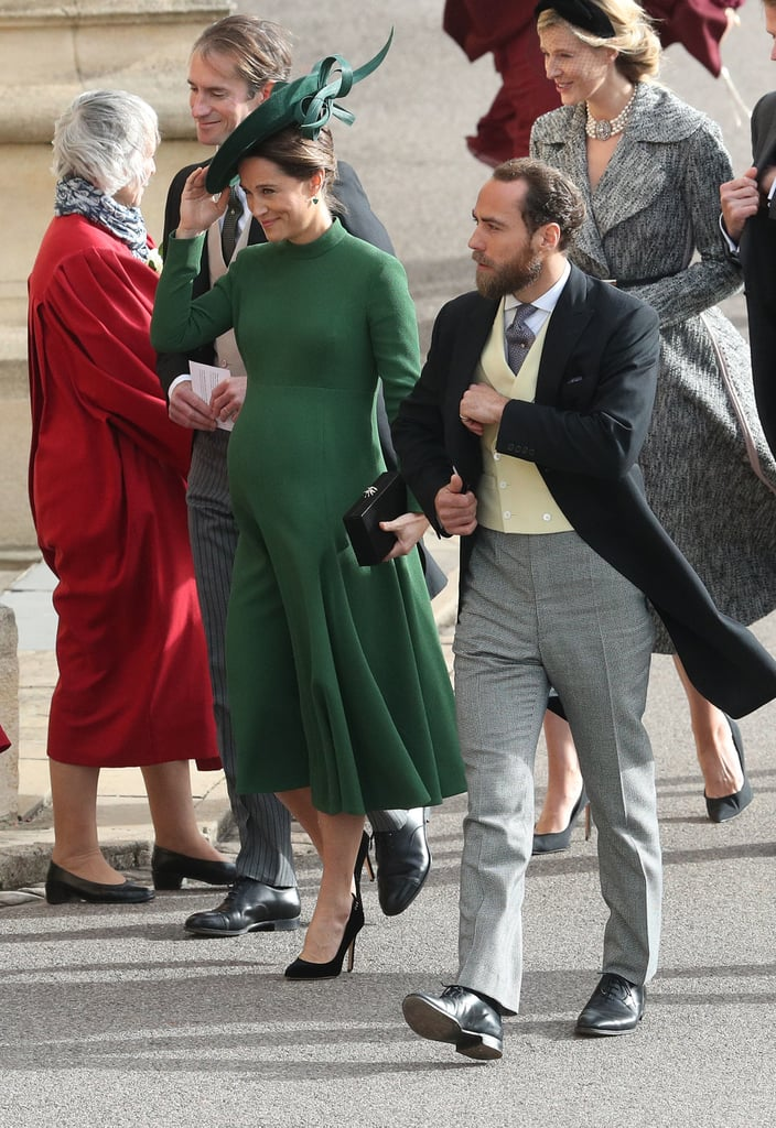 Pippa Middleton Dress at Princess Eugenie's Wedding 2018