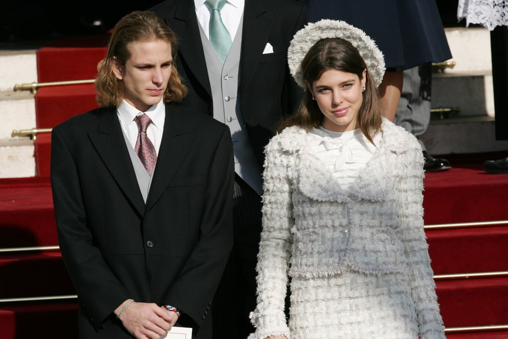 Charlotte and her brother Andrea were on hand at Prince Albert's coronation on Nov. 19, 2005.