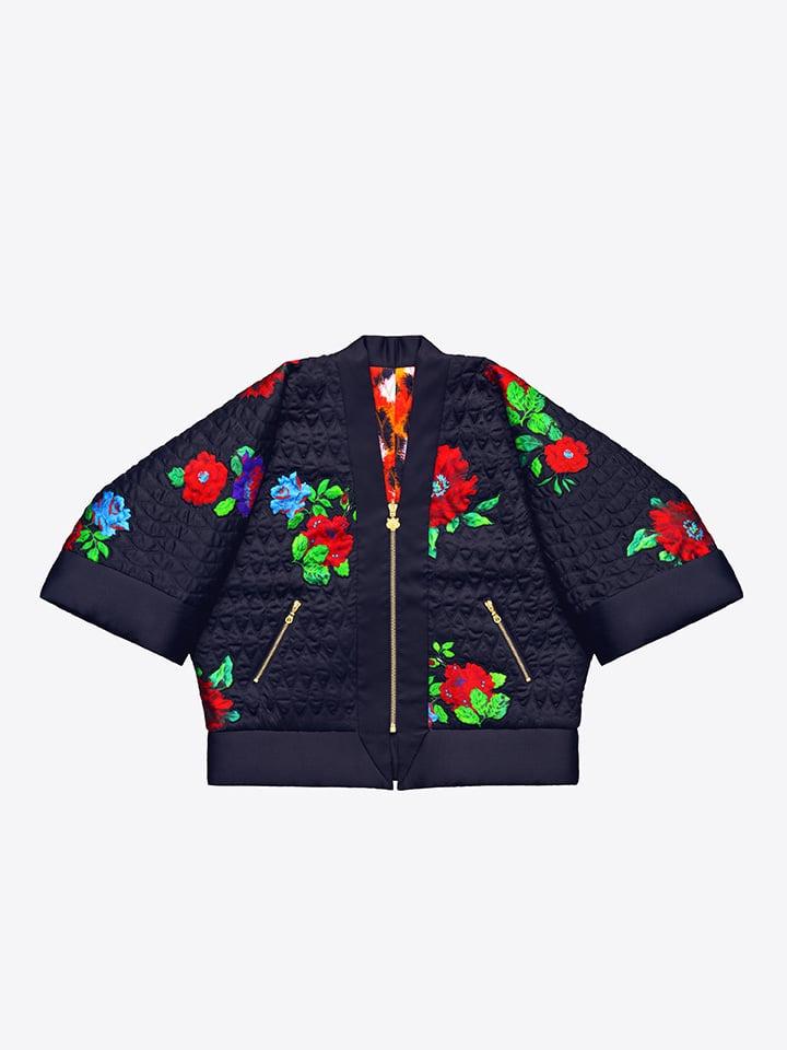 Reversible Silk Kimono ($299)